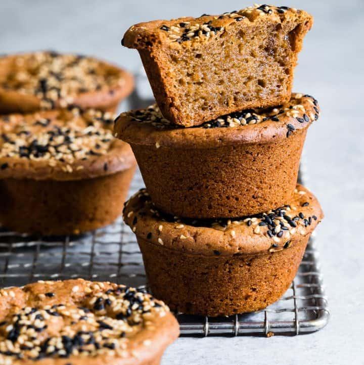 Butter Mochi Cake Muffins