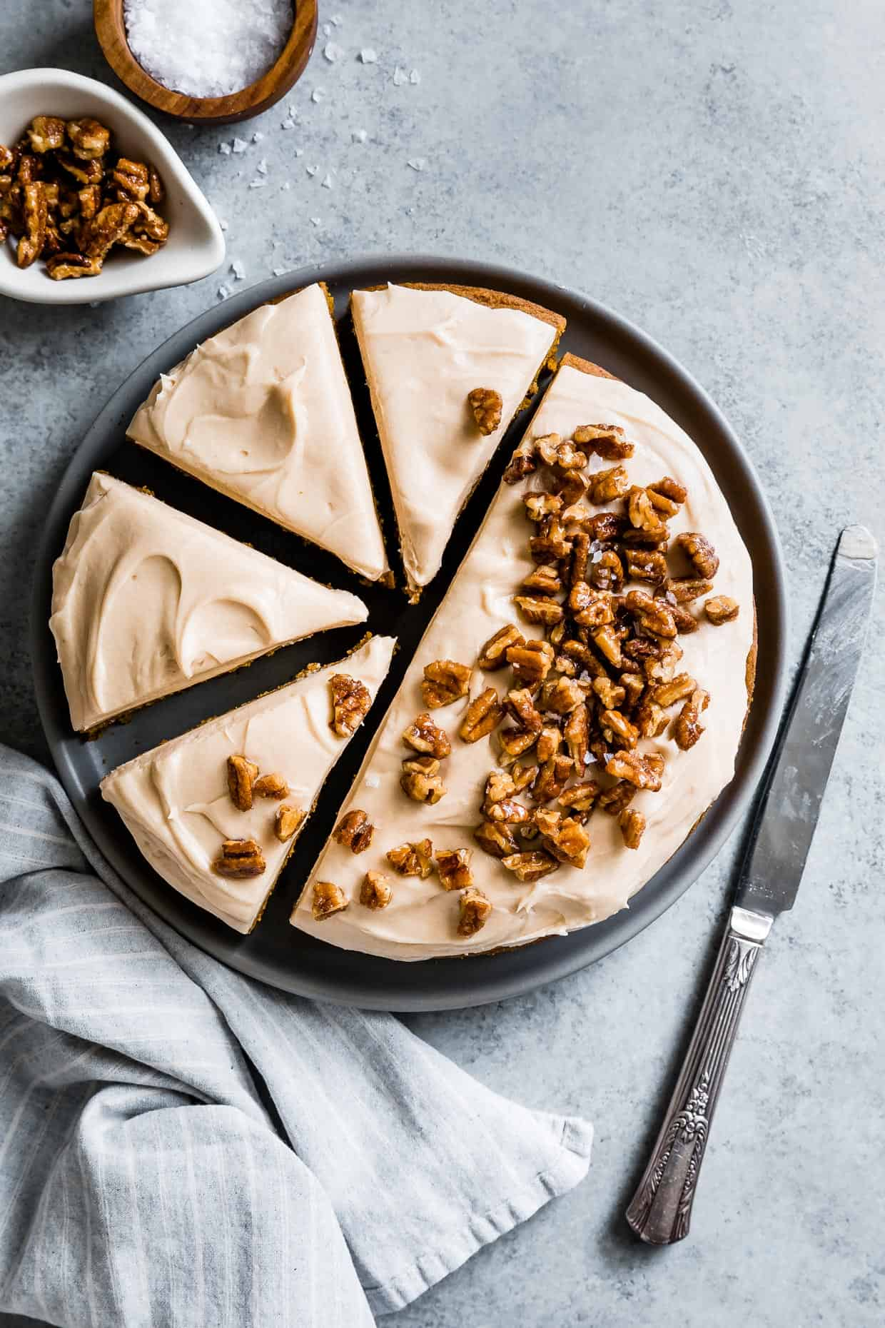 Salted Caramel Cream Cheese Frosting