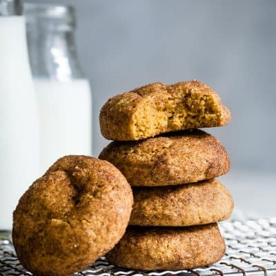 Gluten-Free Pumpkin Cookies with Walnuts