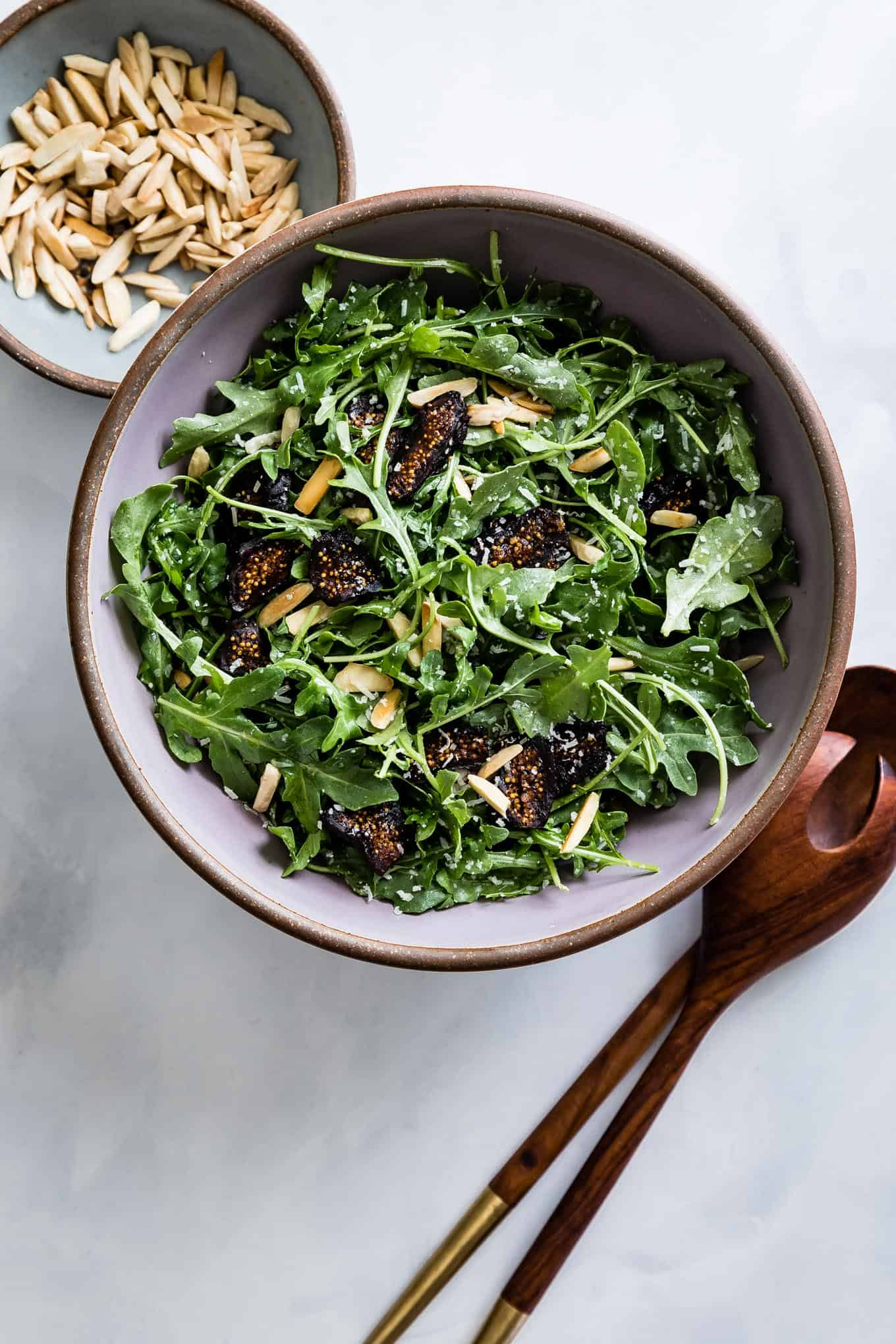 Lemon Arugula Salad with Figs