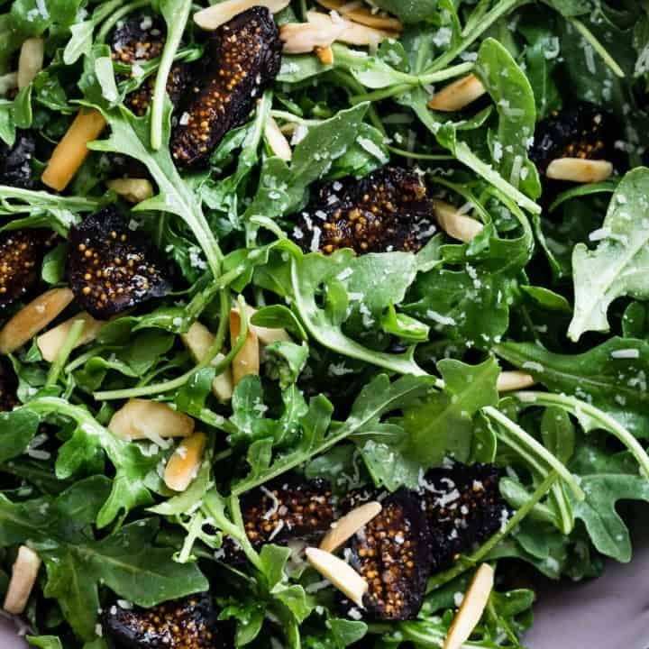 Five-Minute Arugula Fig Salad
