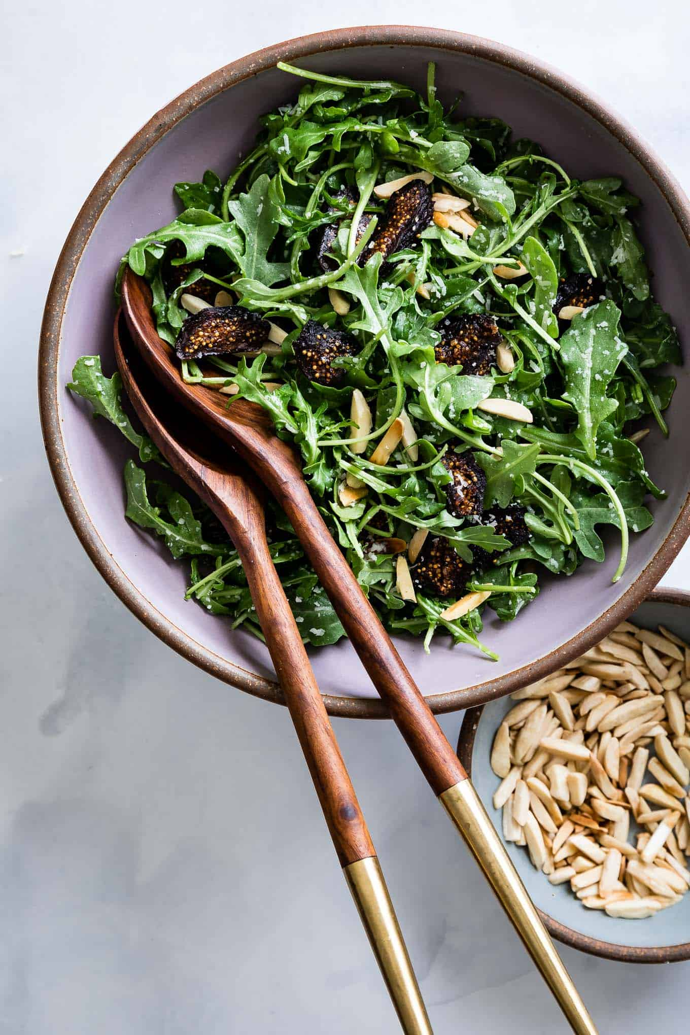 Five-Minute Arugula Fig Salad