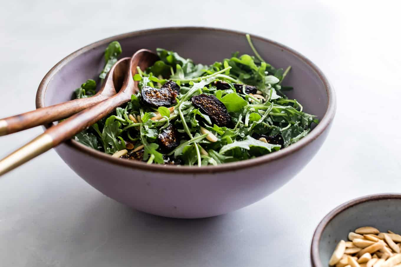 Easy Salad Recipe with Arugula and Figs
