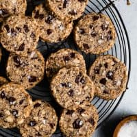 Chocolate Hazelnut Gluten-Free Slice & Bake Cookies