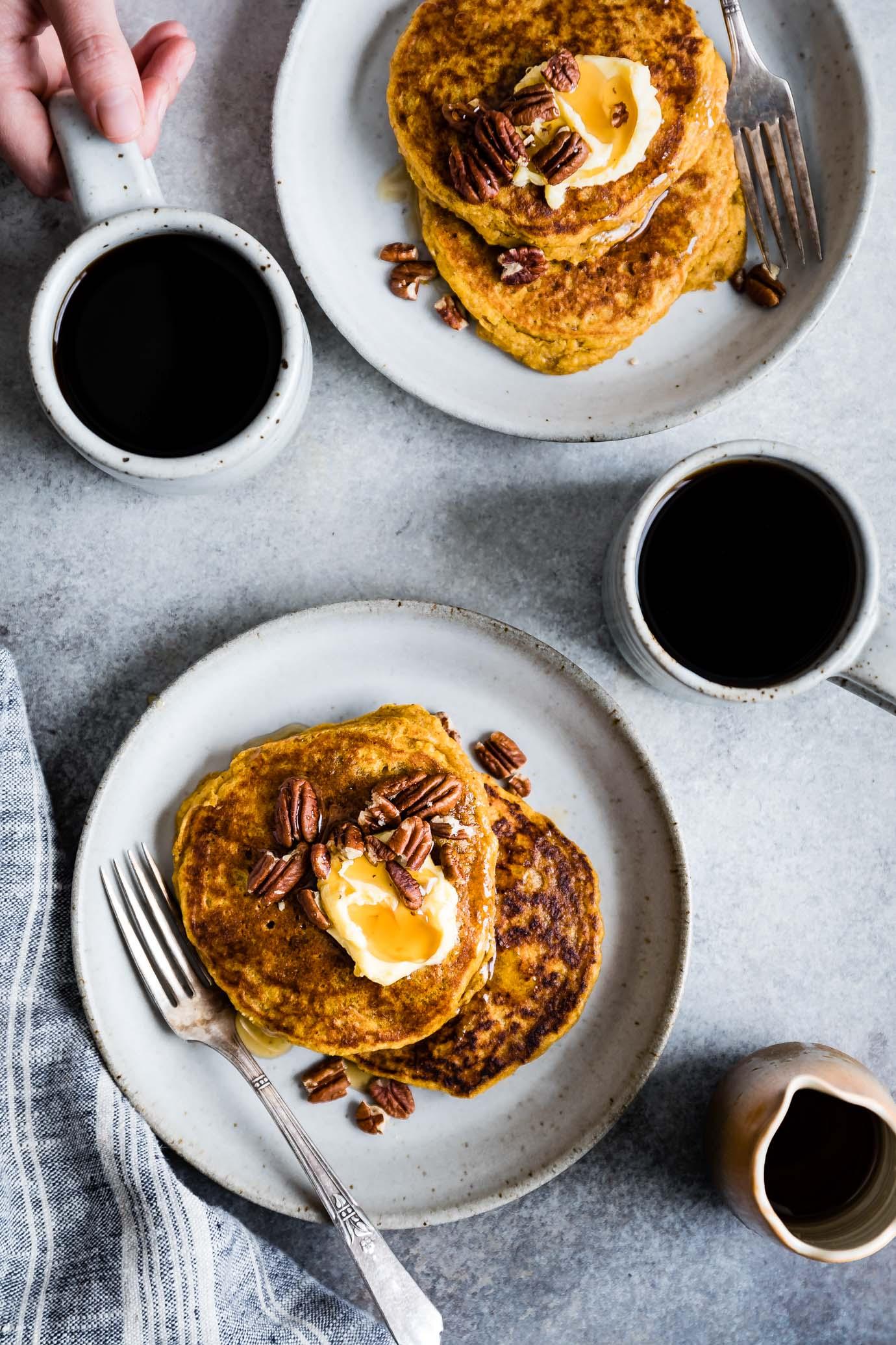 Gluten-Free Pumpkin Pancakes-6