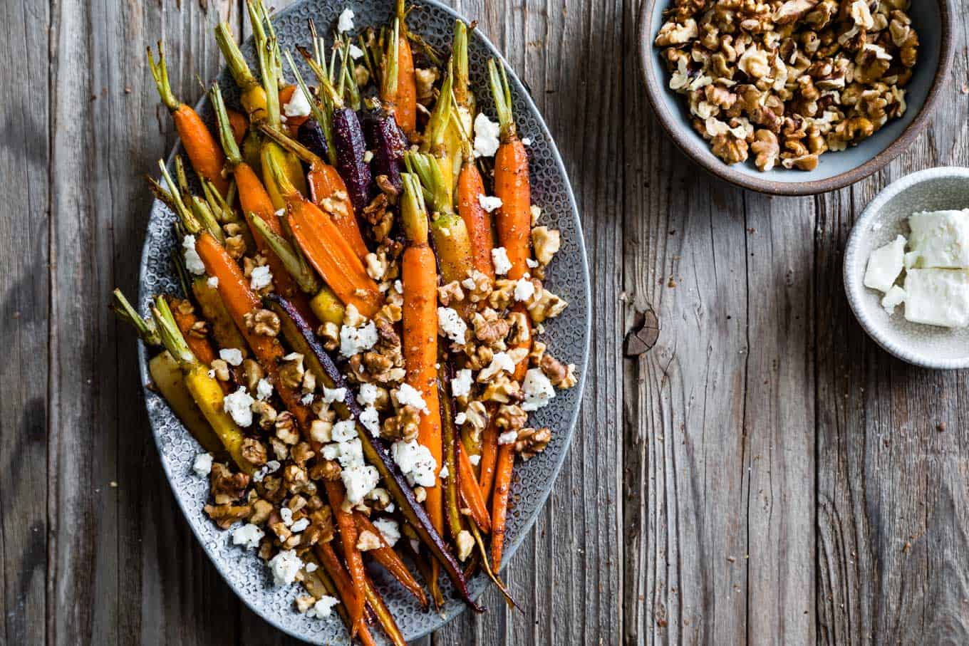 Maple Roasted Whole Carrots Recipe