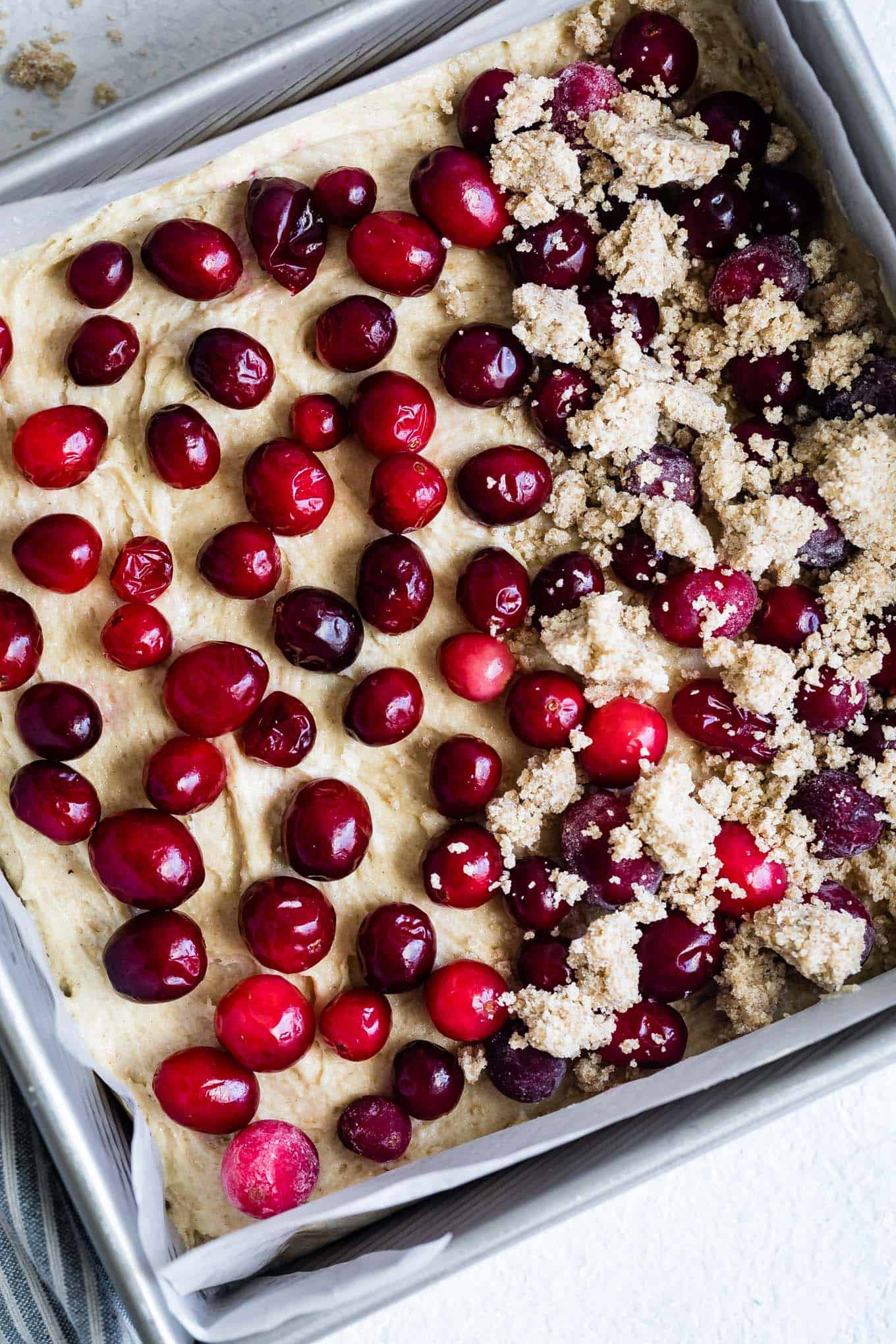 Gluten-Free Cardamom Cranberry Christmas Cake