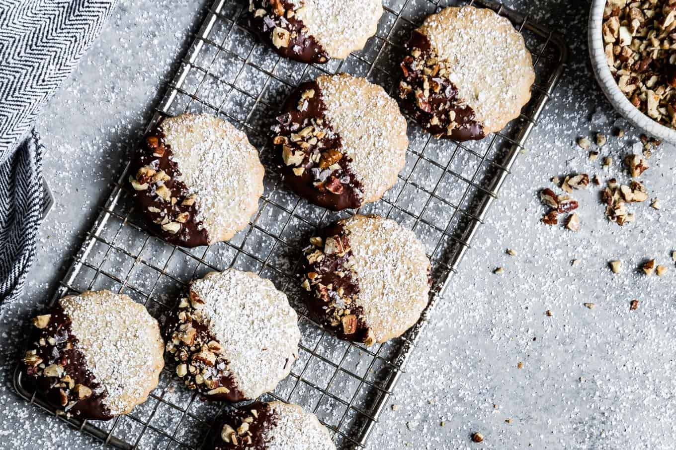 Gluten-Free Chocolate Pecan Cookies