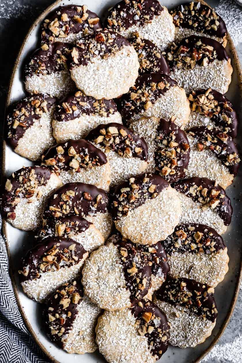 Gluten-Free Cookies: Pecan Shortbread
