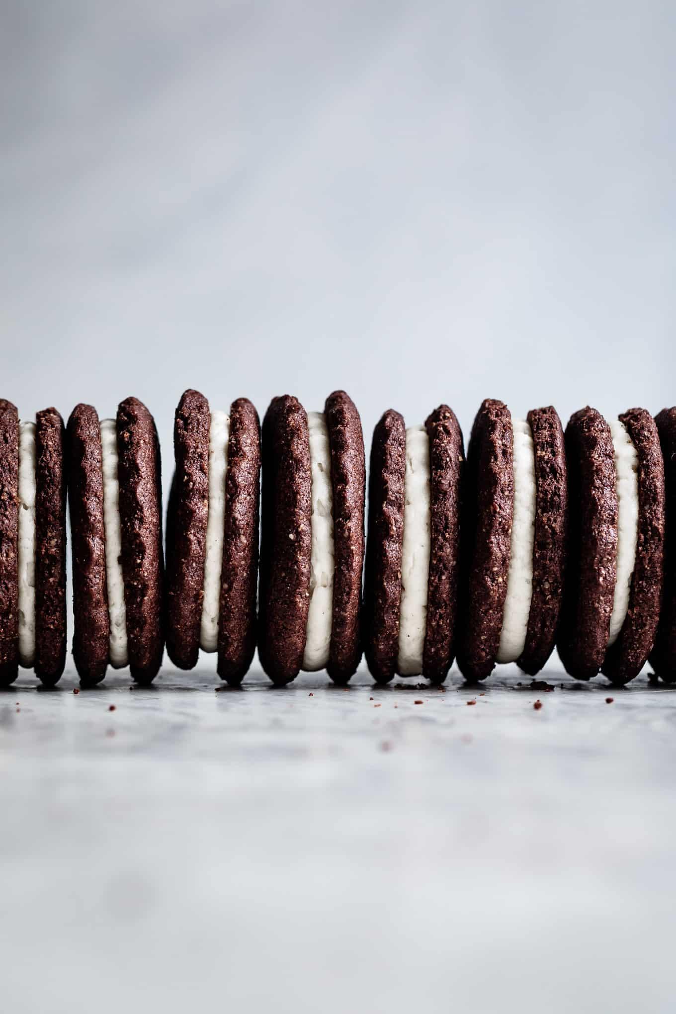 Gluten-Free Christmas Cookies - Homemade Oreos