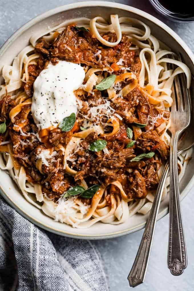 Weeknight Instant Pot Beef Ragu Snixy Kitchen