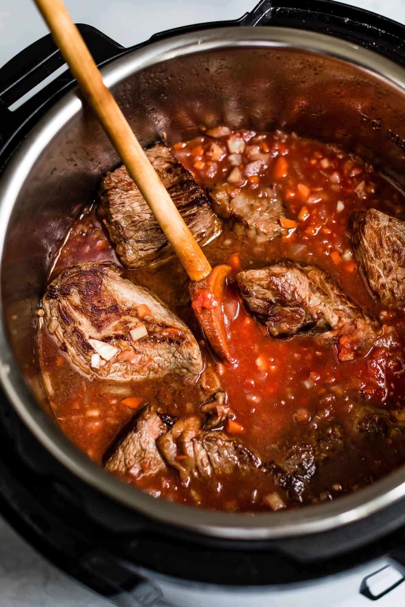 Instant Pot Beef Stew Marinara
