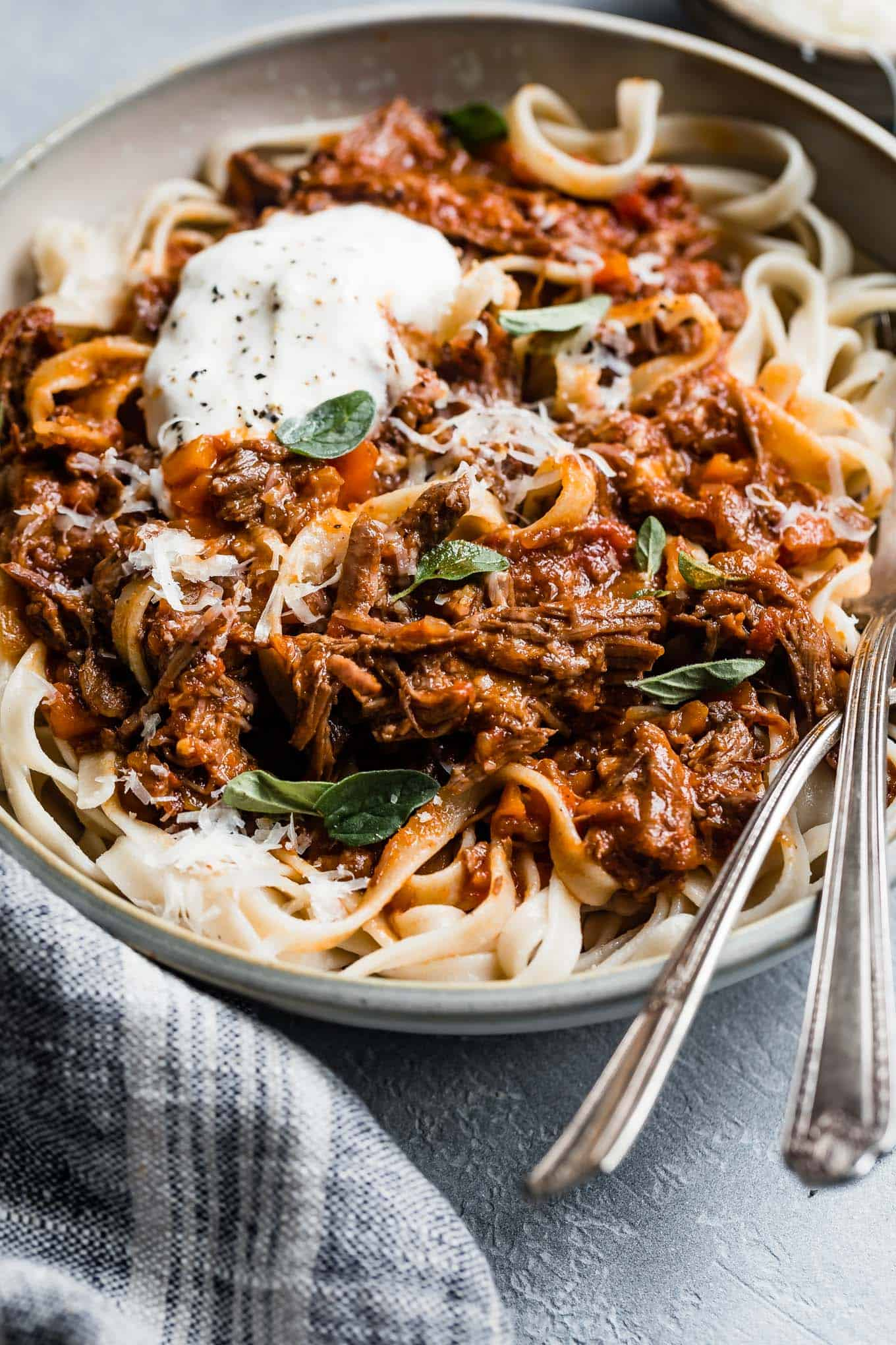 Instant Pot Meat Sauce Marinara
