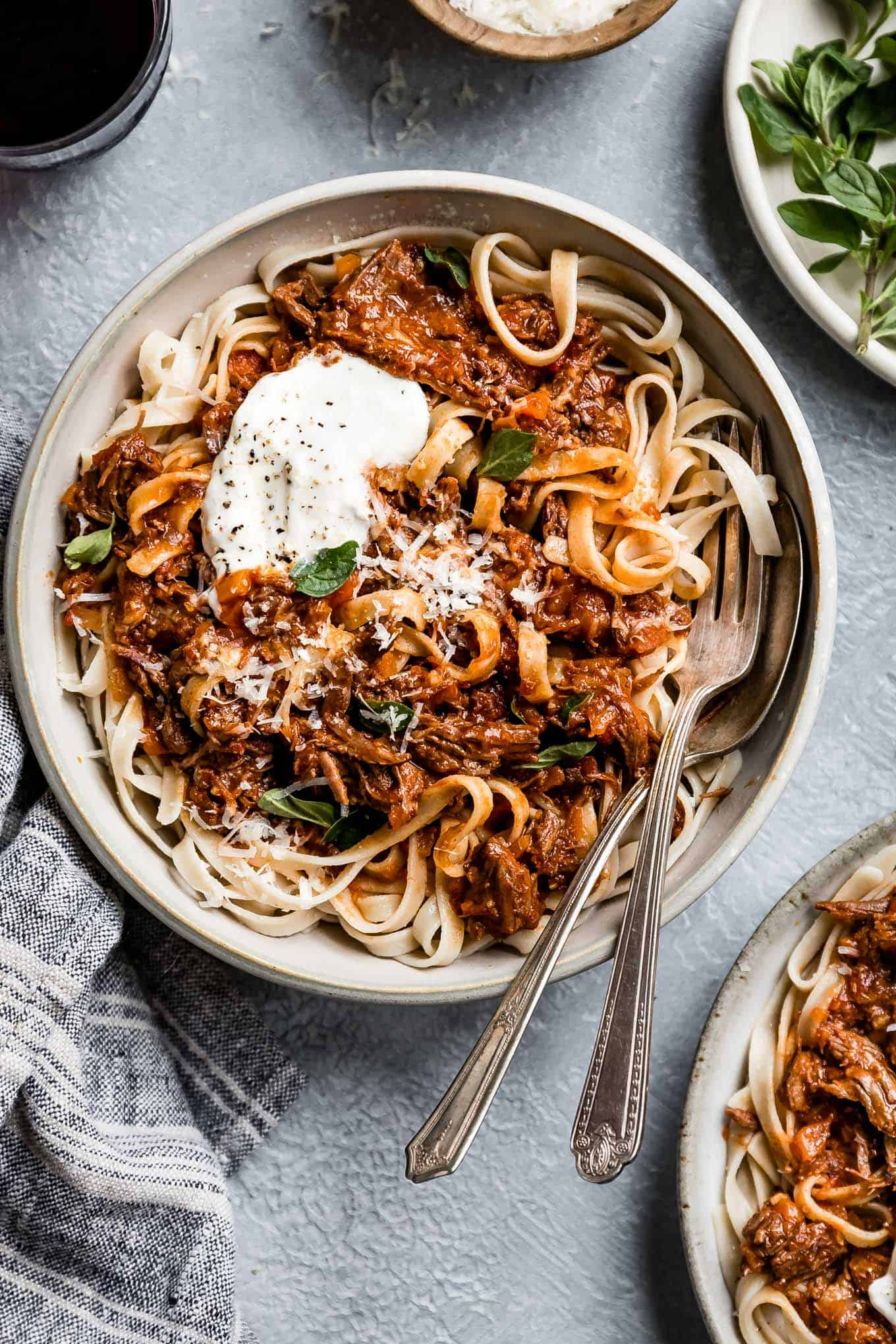 Weeknight Instant Pot Beef Ragu with Marinara