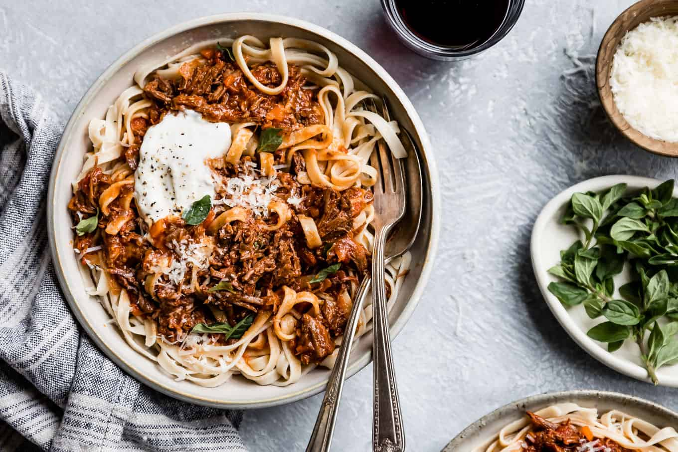 Easy Instant Pot Beef Ragu