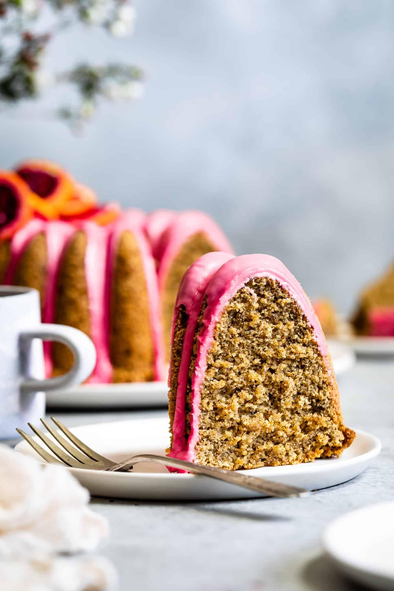 Gluten-Free Earl Grey Tea Cake