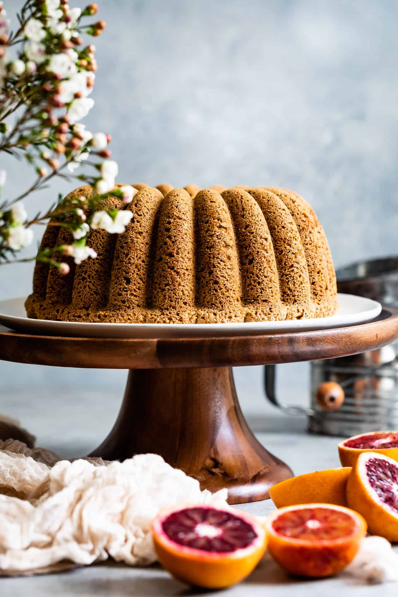 Earl Grey Gluten-Free Cake Recipe