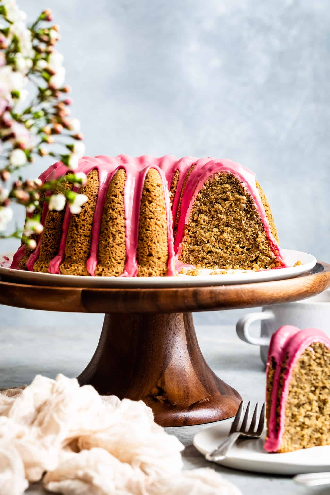 Gluten-Free Cake Infused with Earl Grey