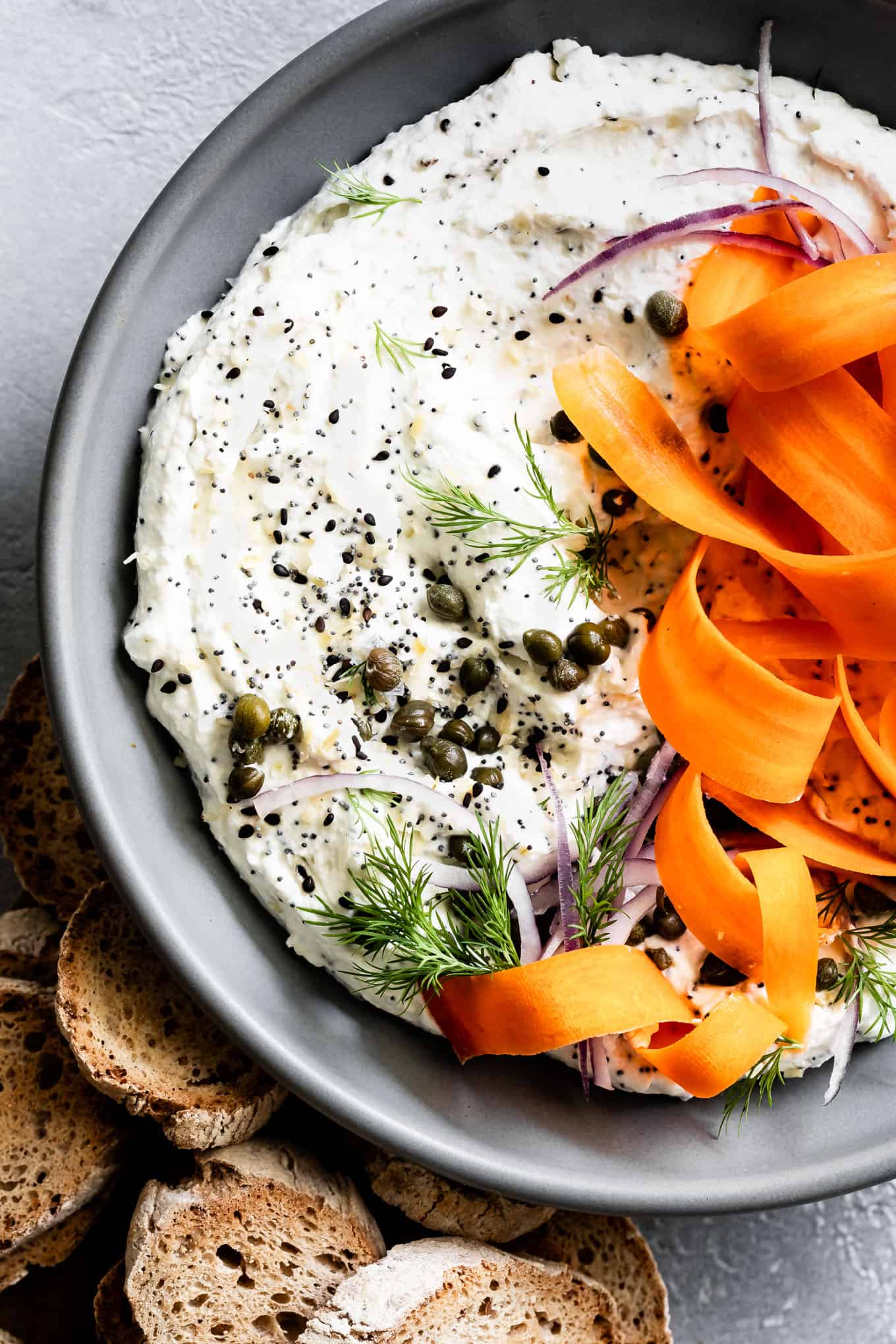 Whipped Chevre Goat Cheese Dip