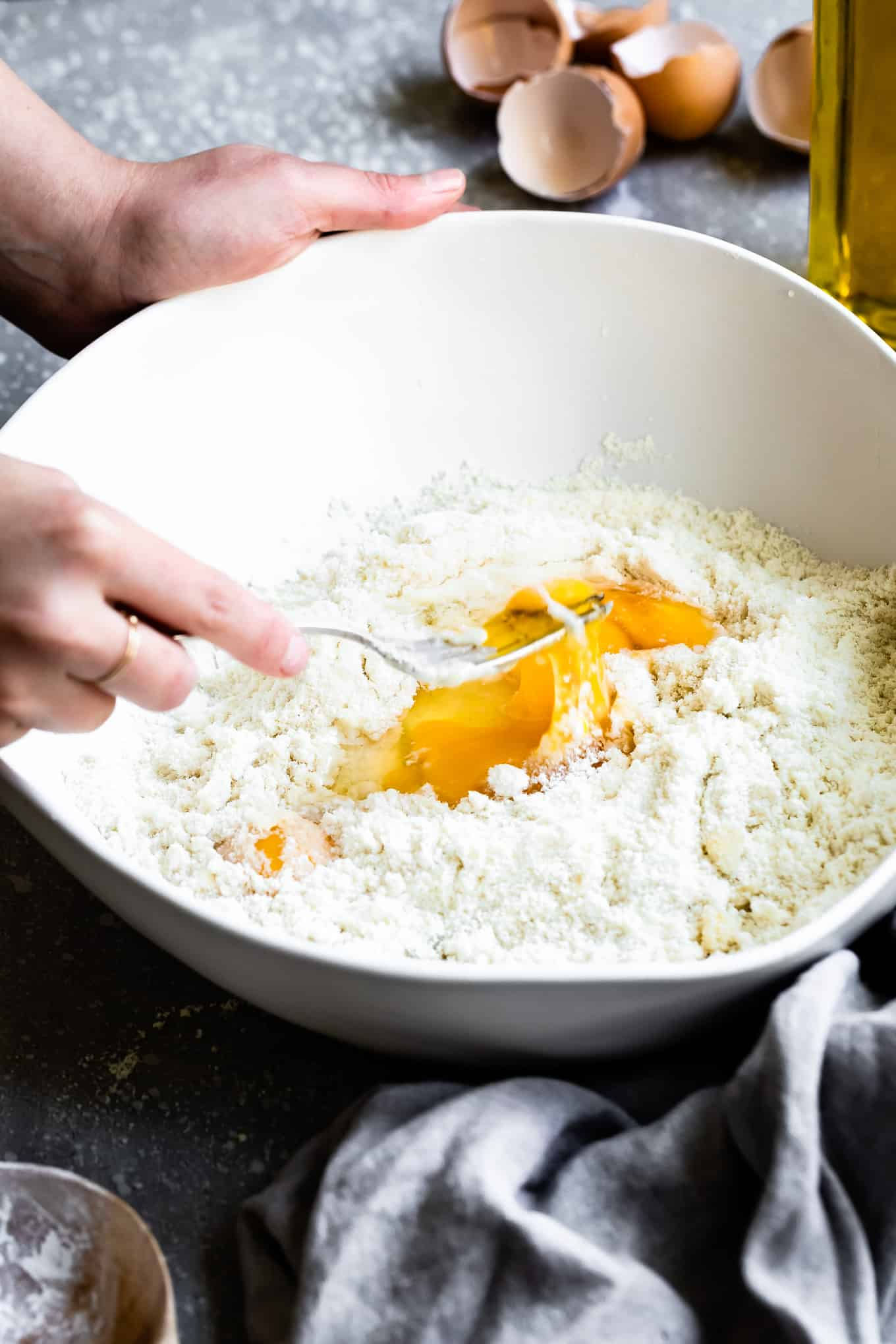 Can you make Pasta with Almond Flour
