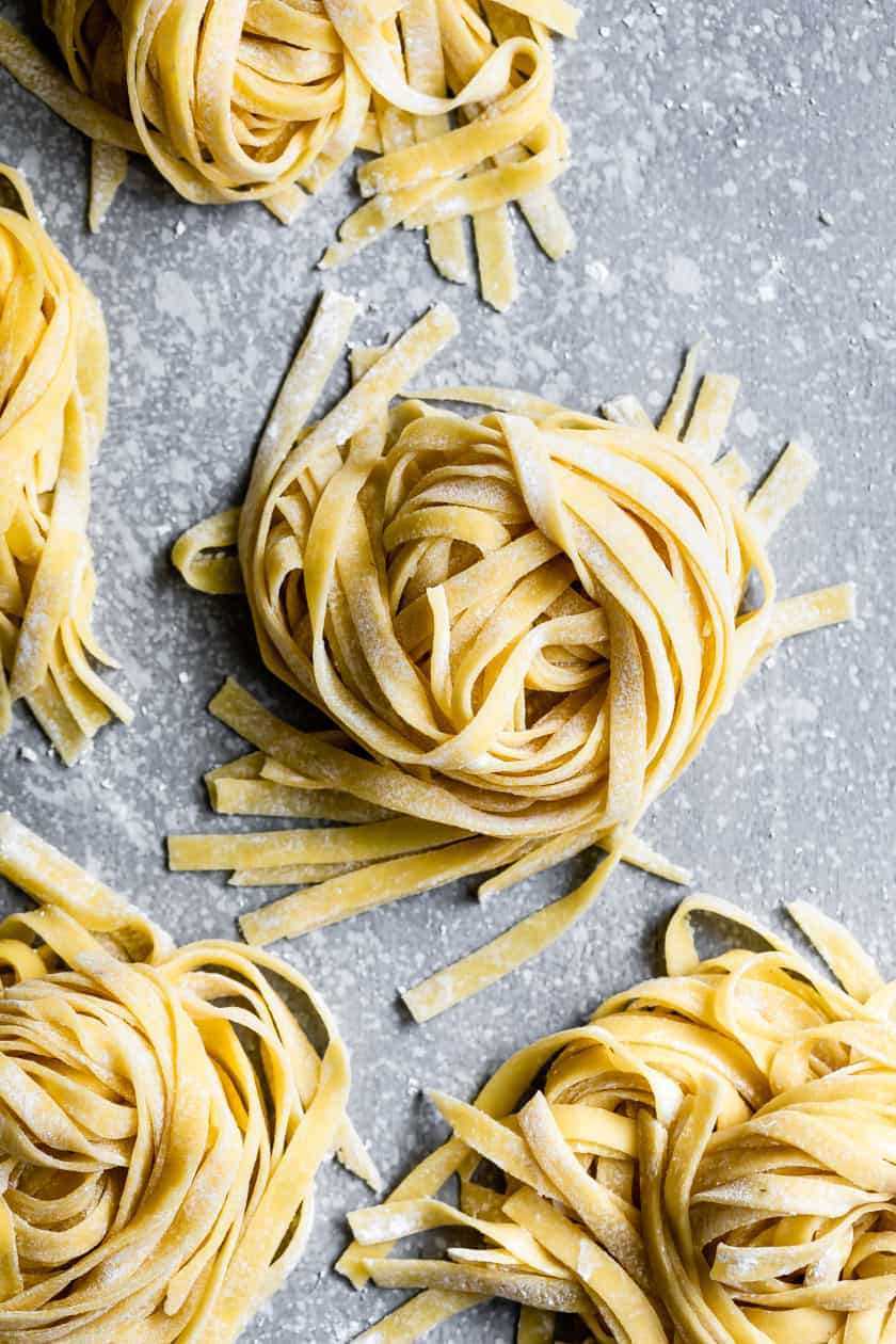 Homemade Pasta without a Pasta Machine