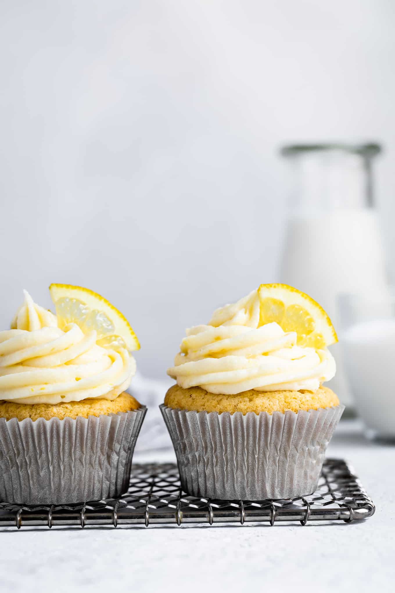 Gluten-Free Lemon Cupcakes with Cream Cheese Frosting