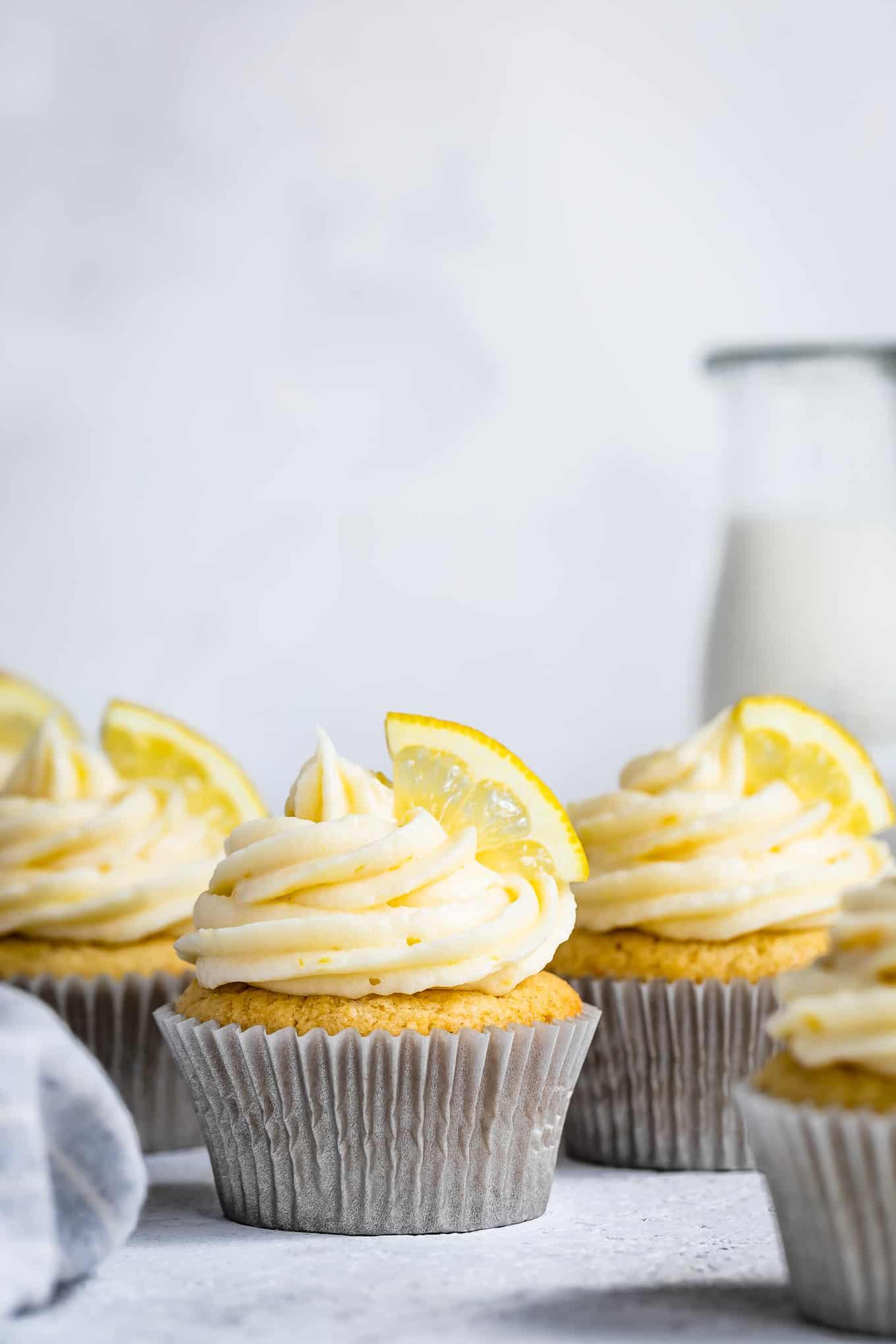 Gluten-Free Lemon Cupcakes Recipe