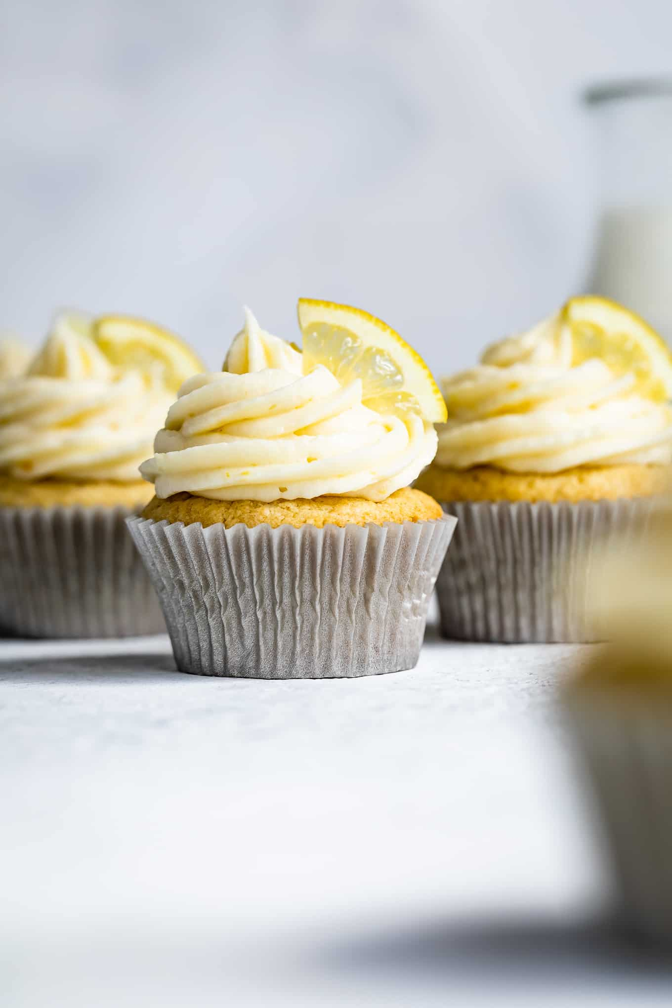 Gluten-Free Lemon Cake with Cream Cheese Frosting