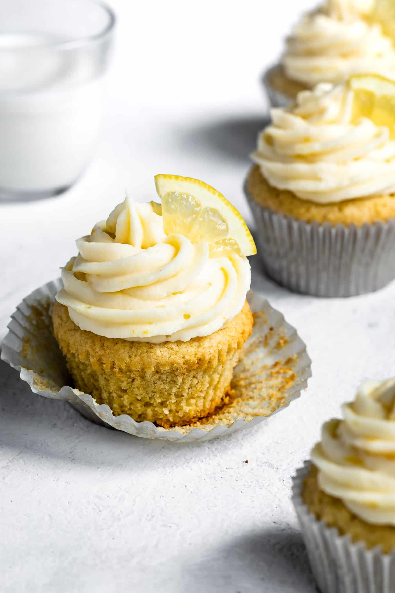 Lemon Frosting for Cupcakes