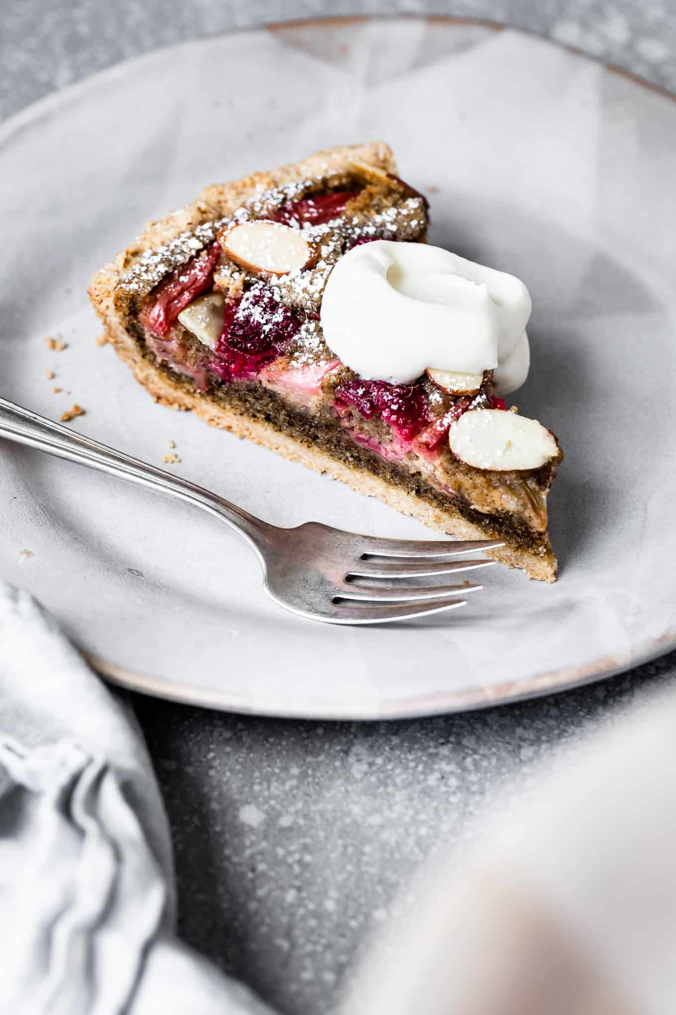 Gluten-Free Tart with Almond Cream