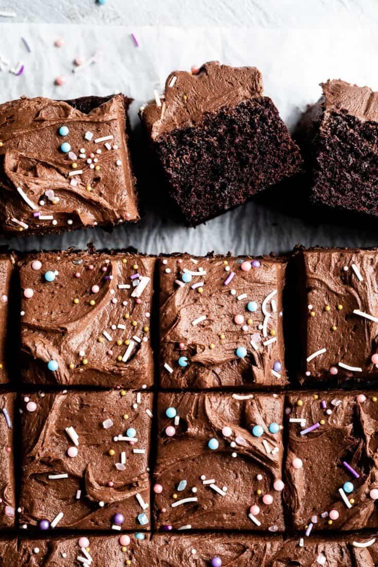 The Best Gluten Free Chocolate Cake Snixy Kitchen