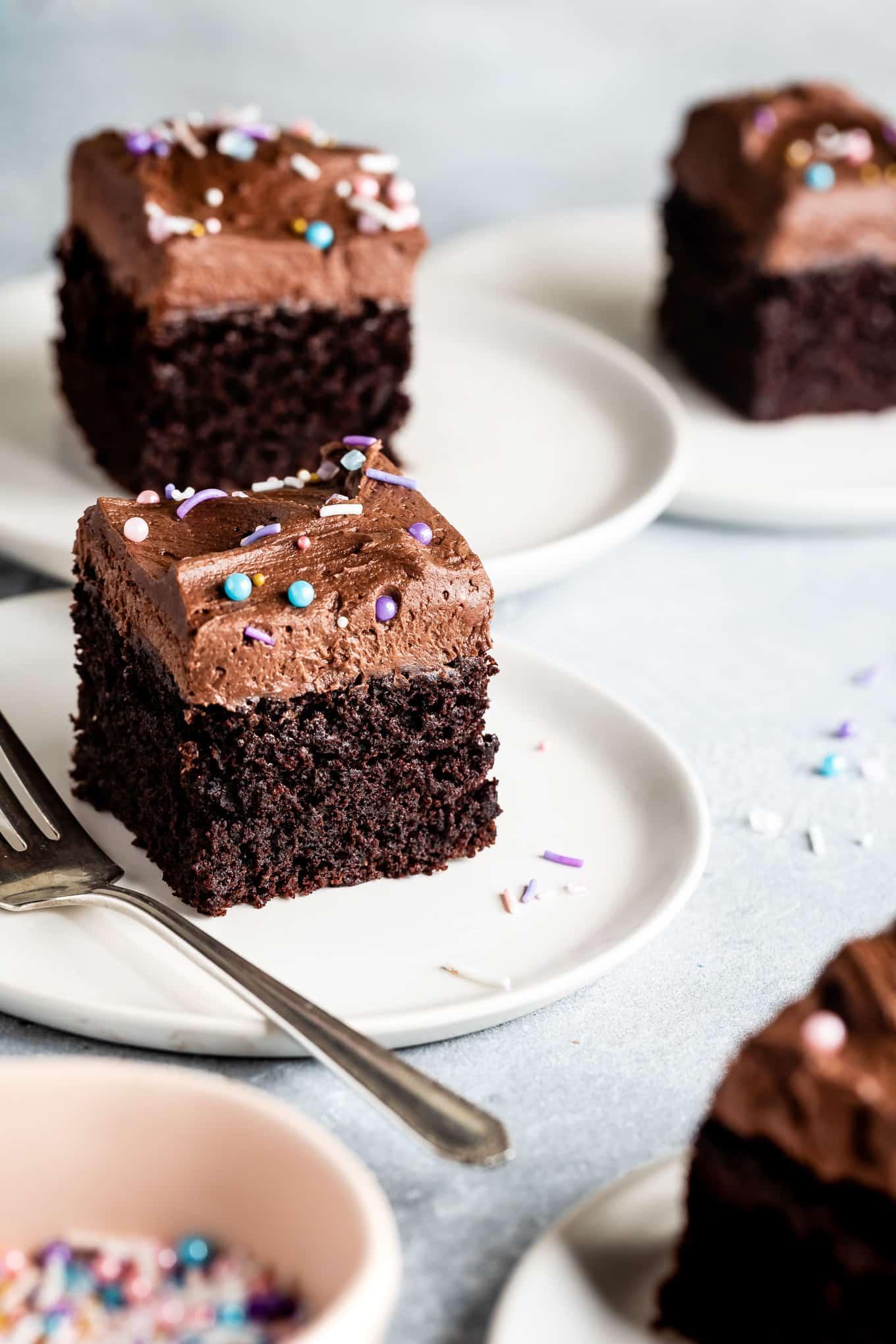 Gluten-Free Sheet Cake