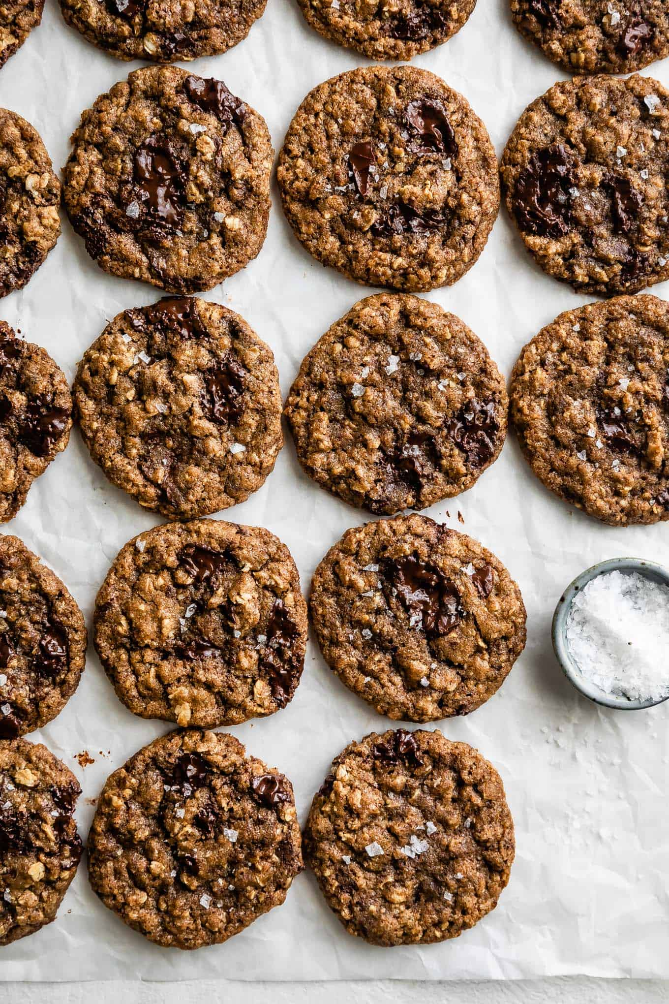 Gluten-Free Chewy Oatmeal Cookies Recipe