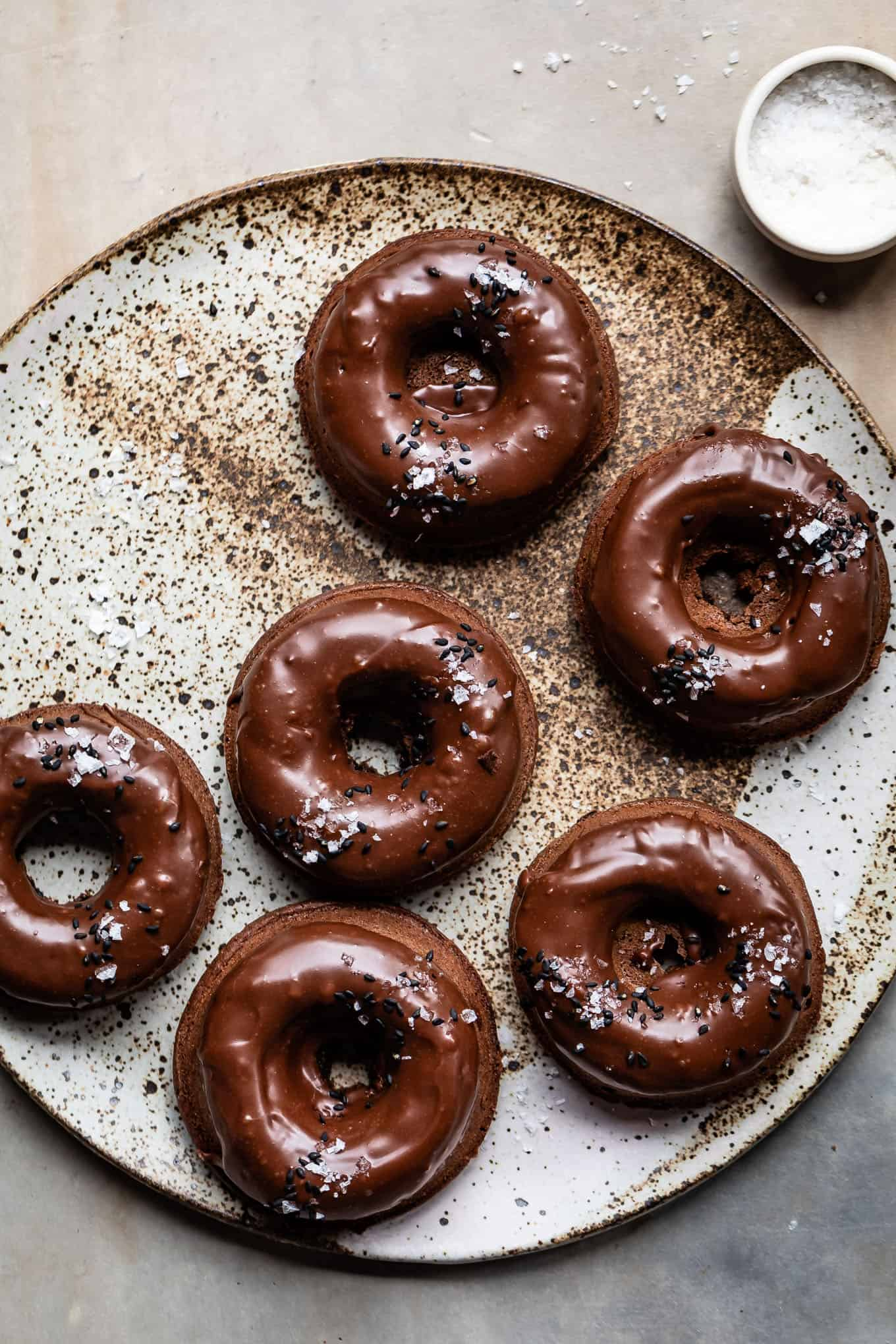 Chocolate Butter Mochi Donuts