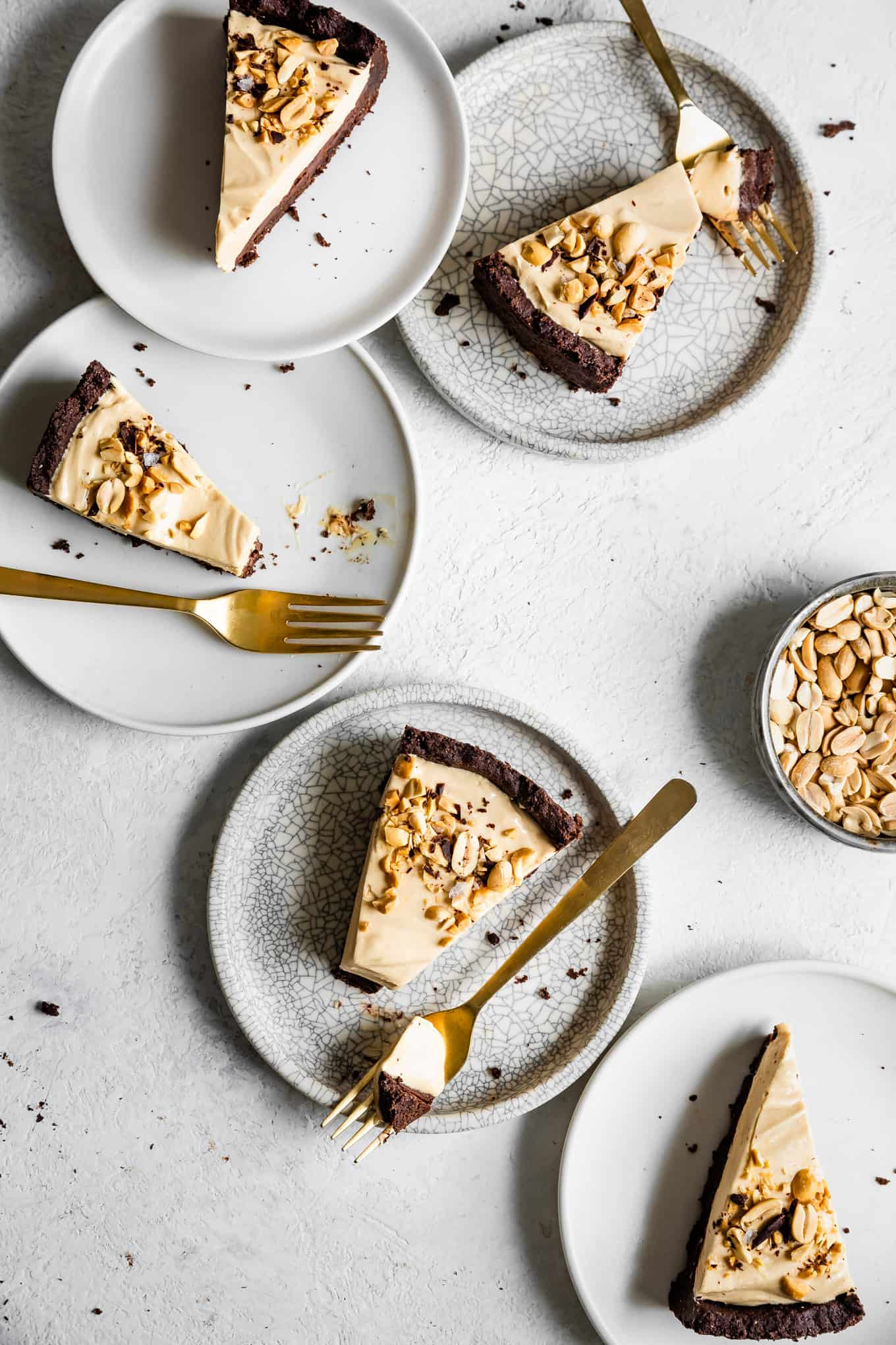Gluten-Free Chocolate Peanut Butter Cream Pie