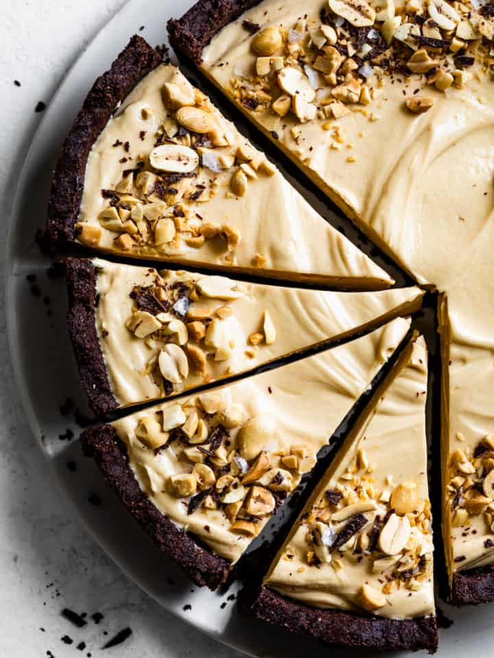 Gluten-Free Chocolate Peanut Butter Pie