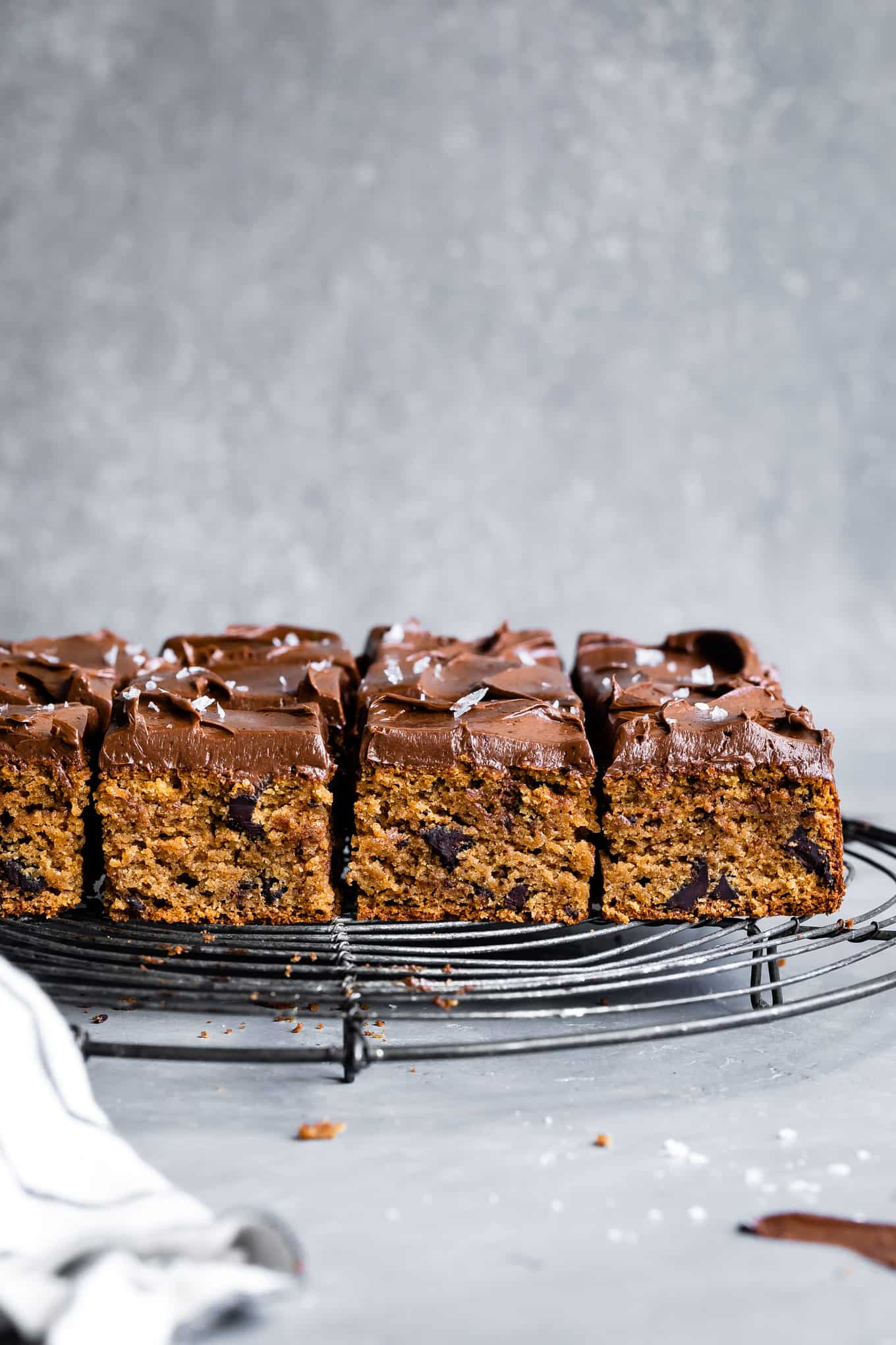 Chocolate Chip Tahini Cake