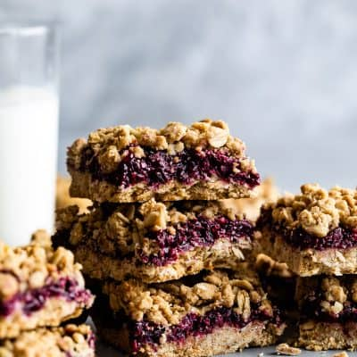 Gluten-Free Breakfast Oatmeal Jam Bars