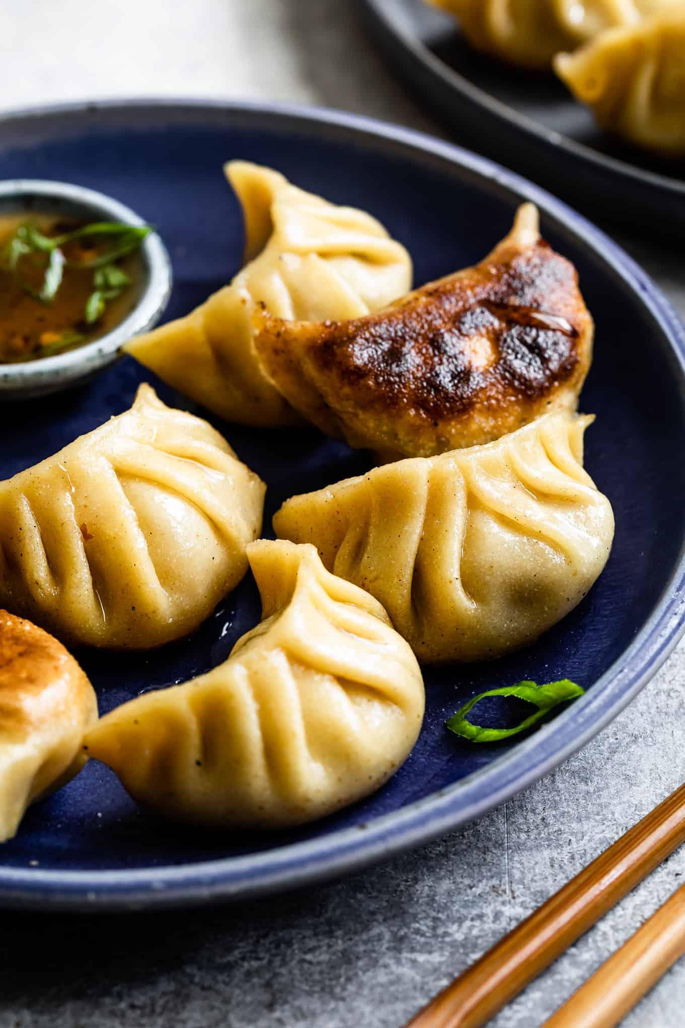 Fried Dumplings Gluten-Free