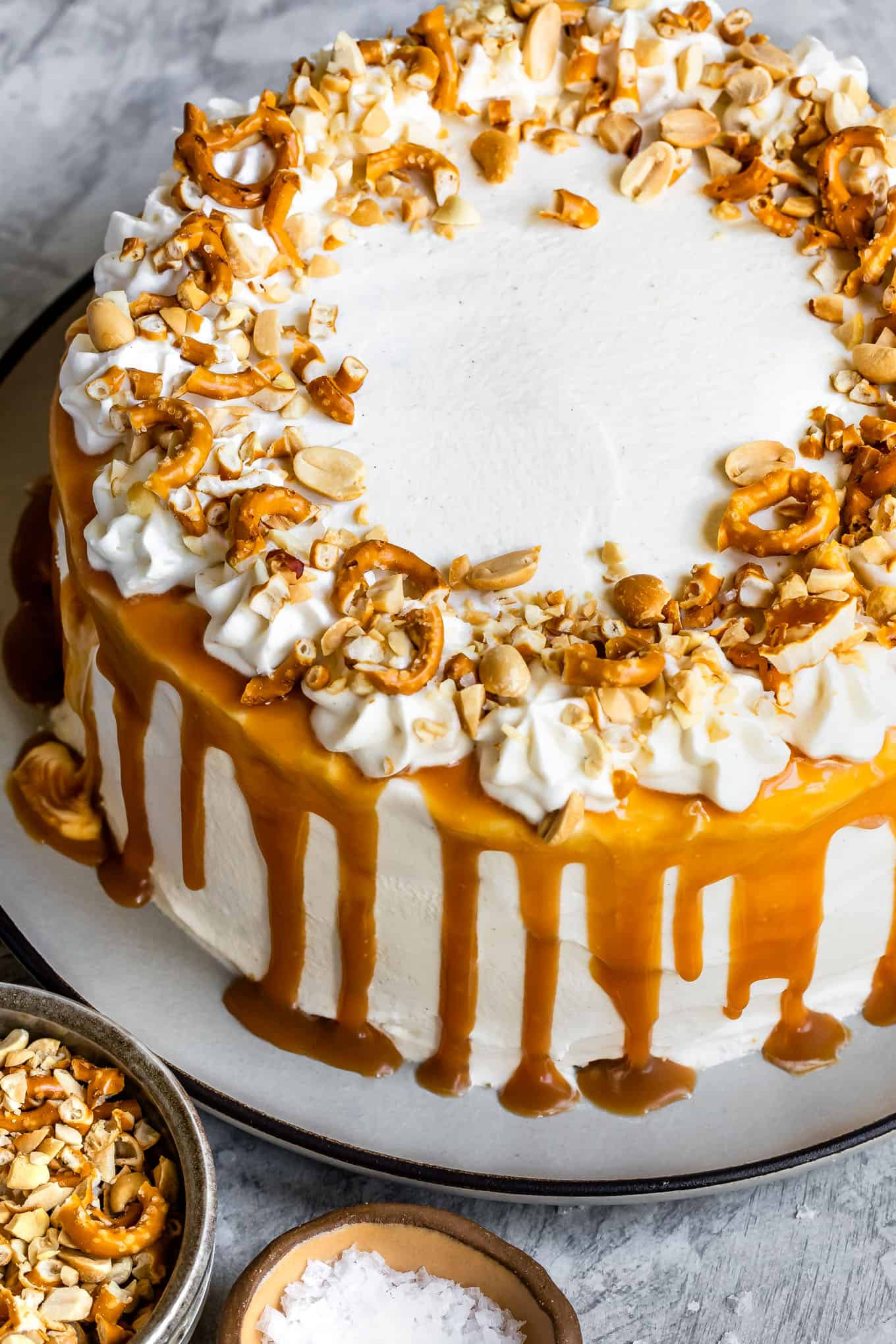 Chocolate & Caramel Gluten-Free Ice Cream Cake Recipe