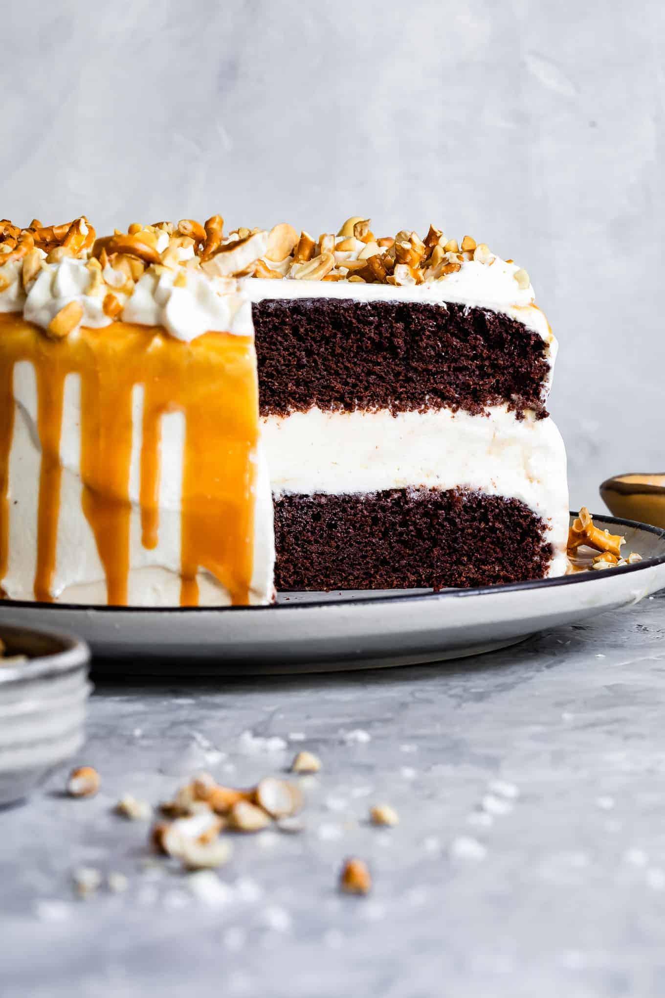 Gluten-Free Chocolate Ice Cream Cake