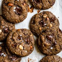 Vegan Gluten-Free Chocolate Chip Cookies