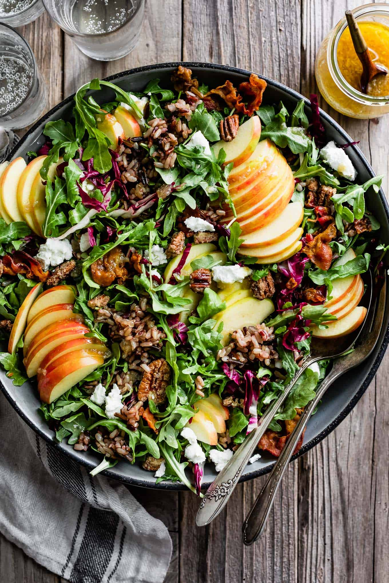 Fall Harvest Salad with Apples