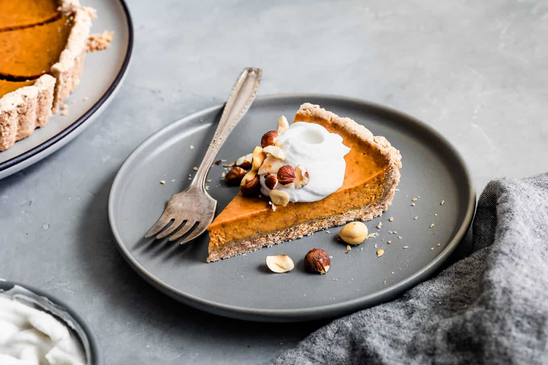 Dairy-Free Pumpkin Pie Recipe