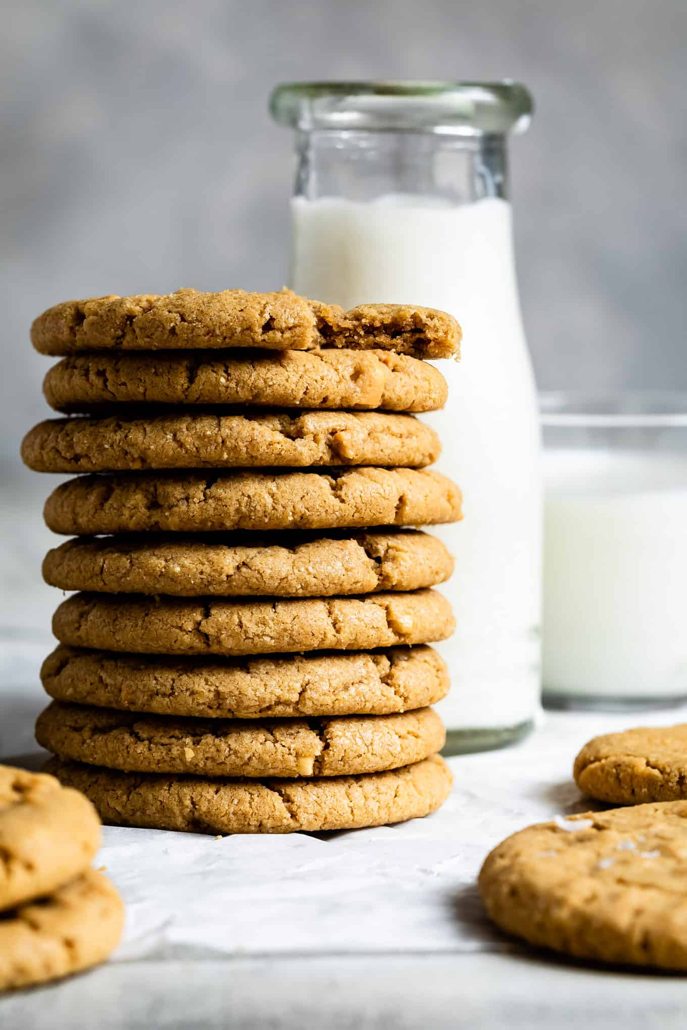 Gluten-Free Christmas Cookies: Peanut Butter