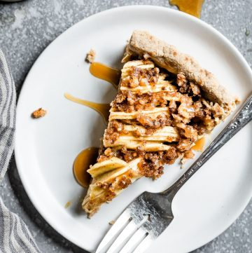 Vegan Gluten-Free Apple Tart
