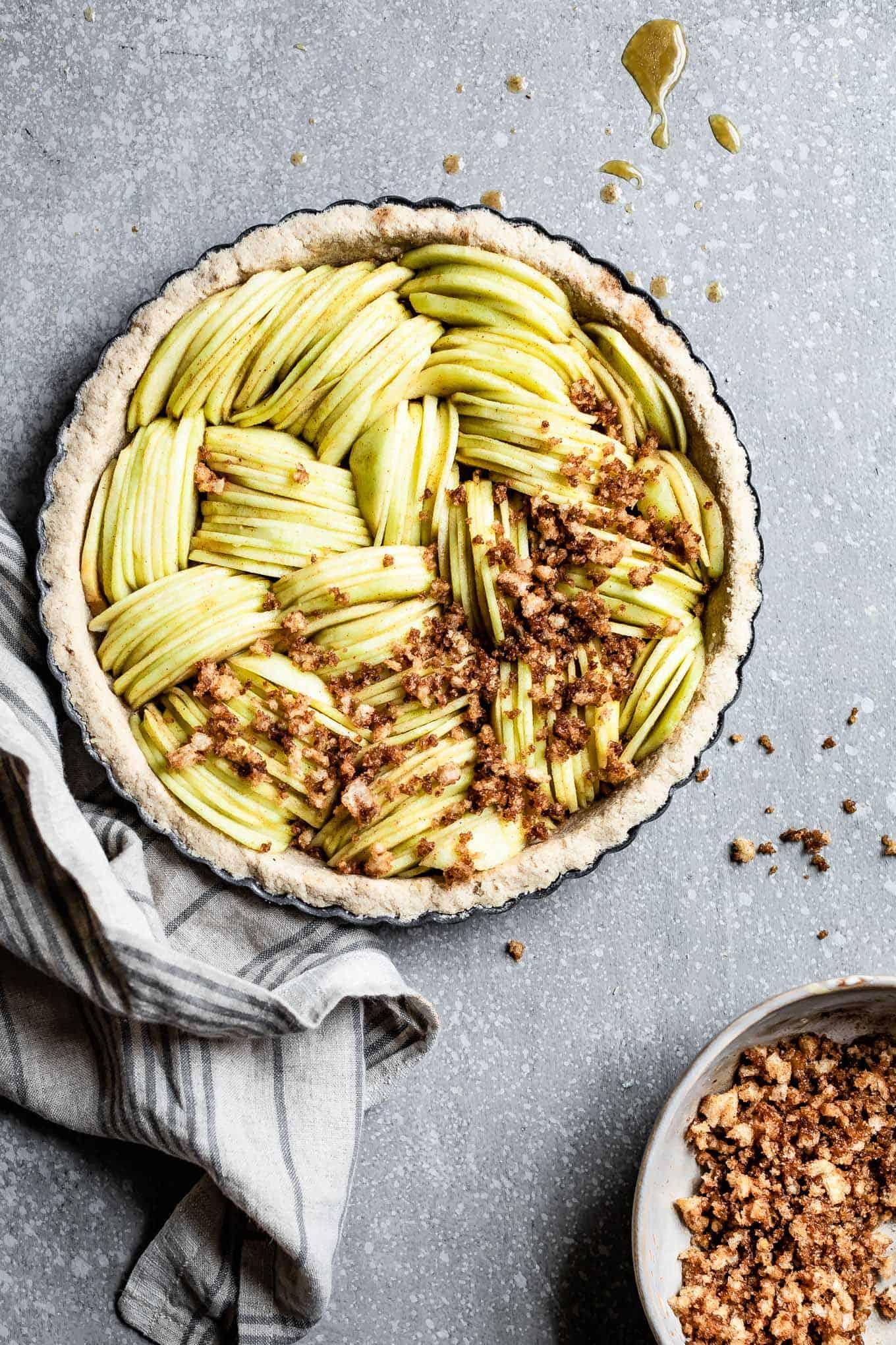 Gluten-Free Fruit Tart with Apples