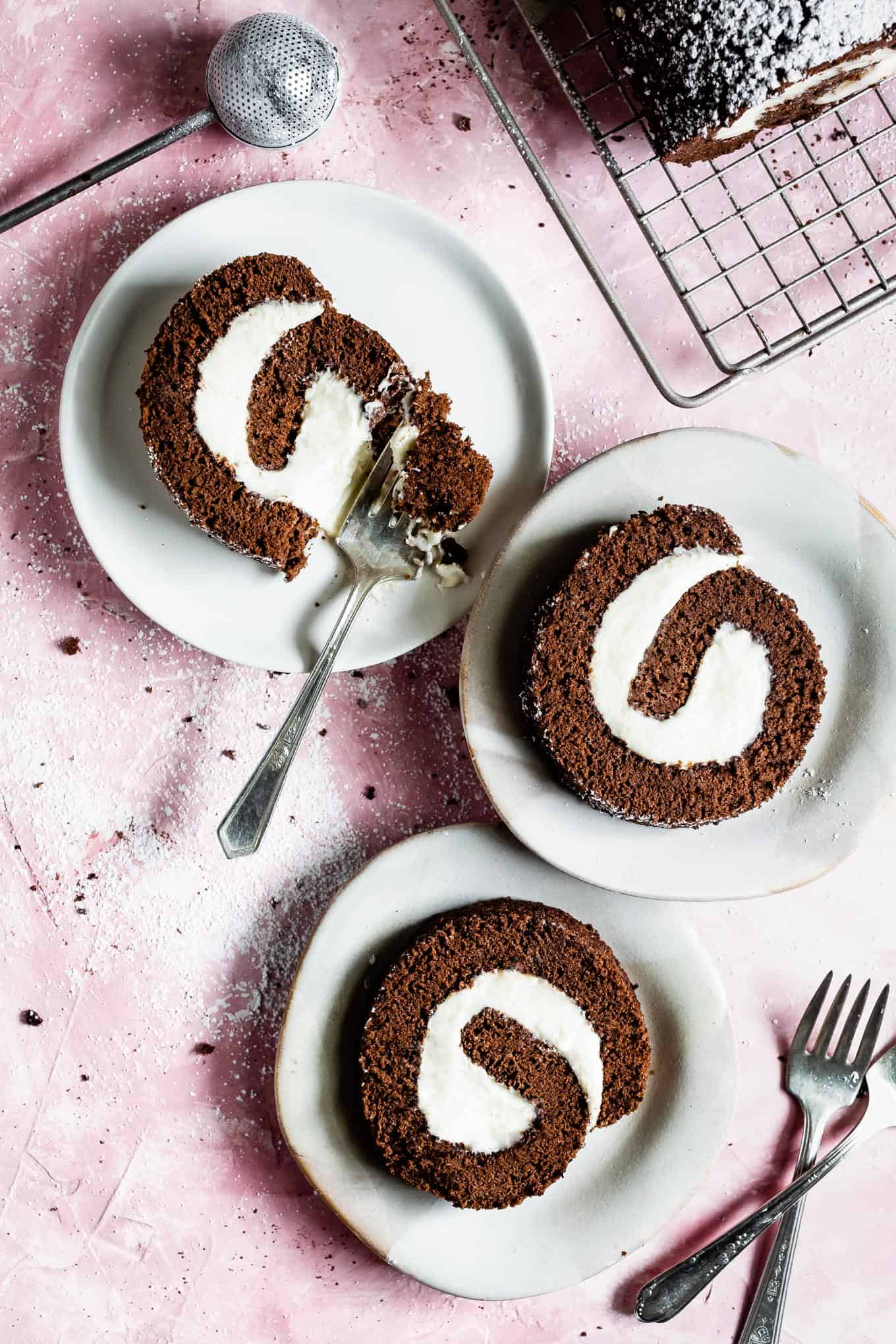Chocolate Swiss Roll Gluten-Free