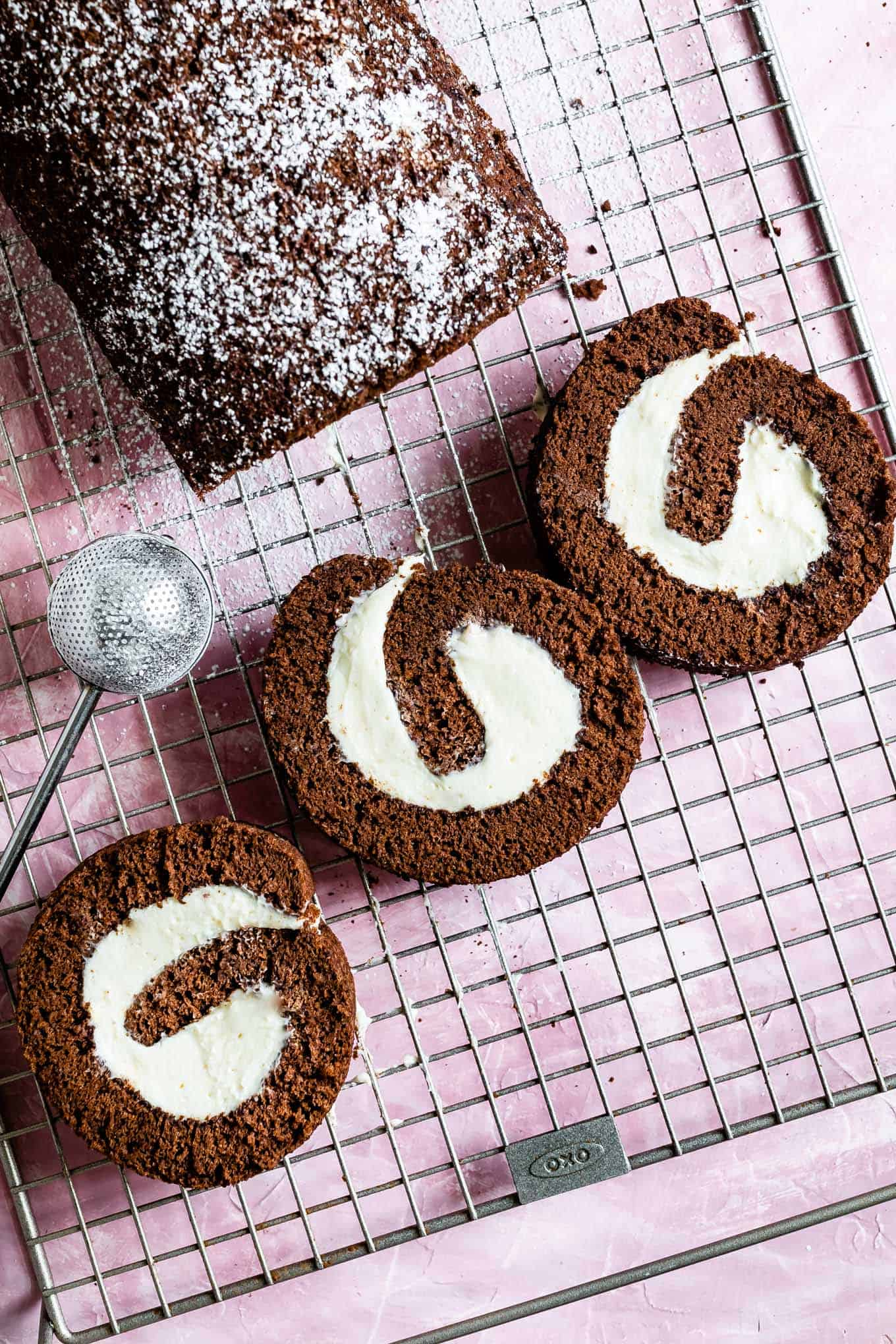 Gluten-Free Chocolate Roll Cake