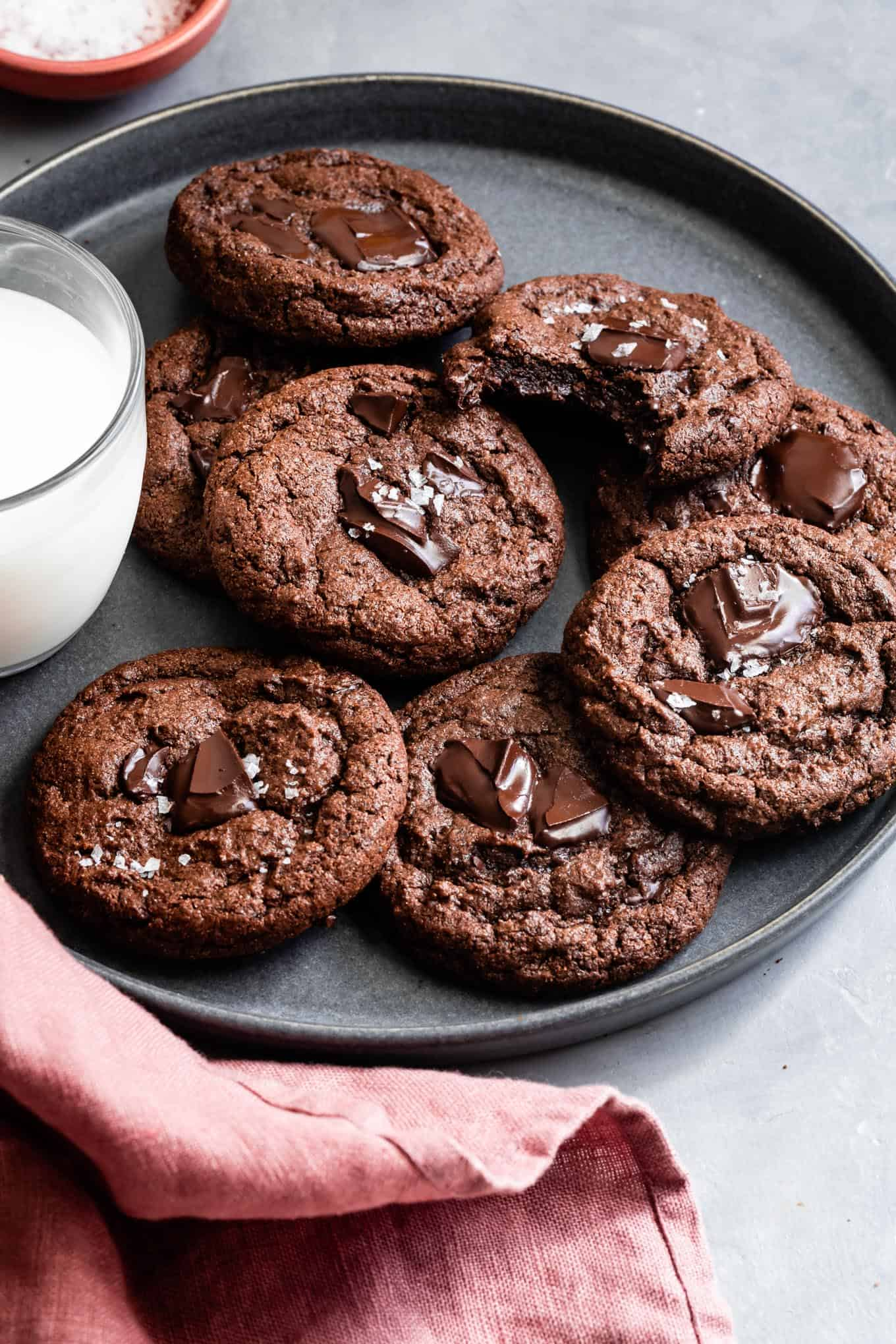 Chewy Gluten-Free Chocolate Cookies